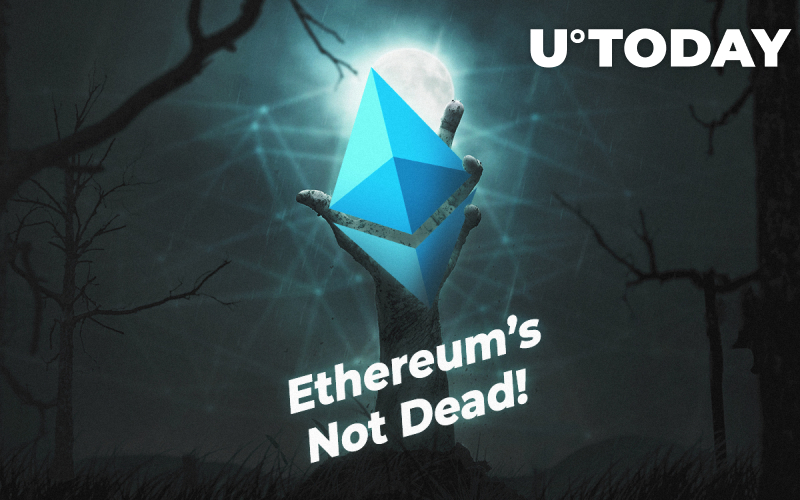 Ethereum's Not Dead as Price Gains Momentum on dApp Platform of Choice