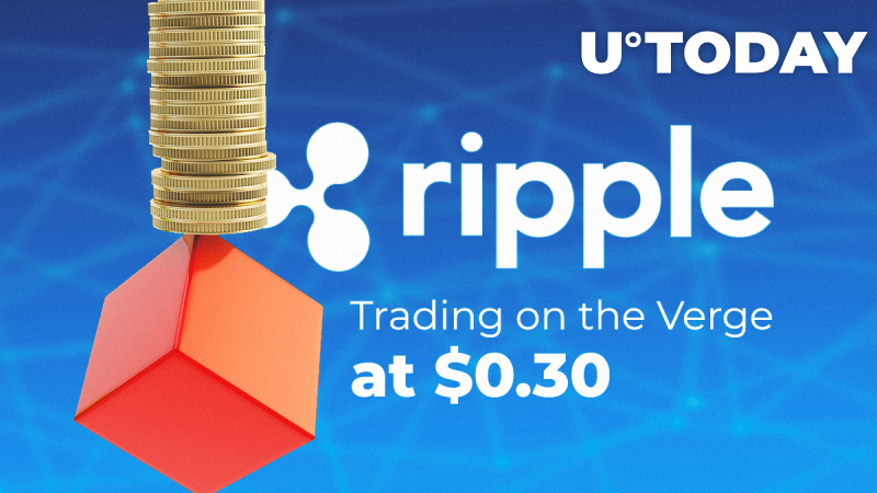XRP/USD Price Prediction — Trading on the Verge at $0.30: Where Is XRP Gonna Move Next?