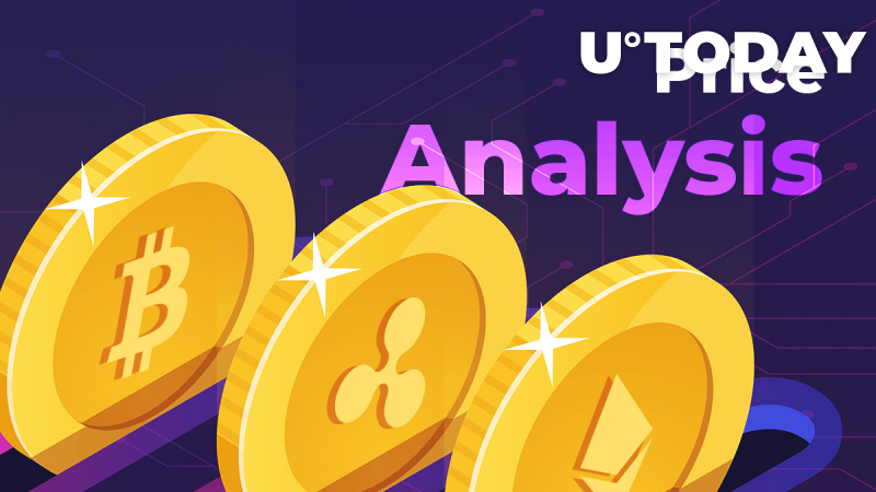 BTC, ETH, XRP Price Analysis — Bitcoin Is Below $11,000. Can the Top Coins Update Their Maximums?