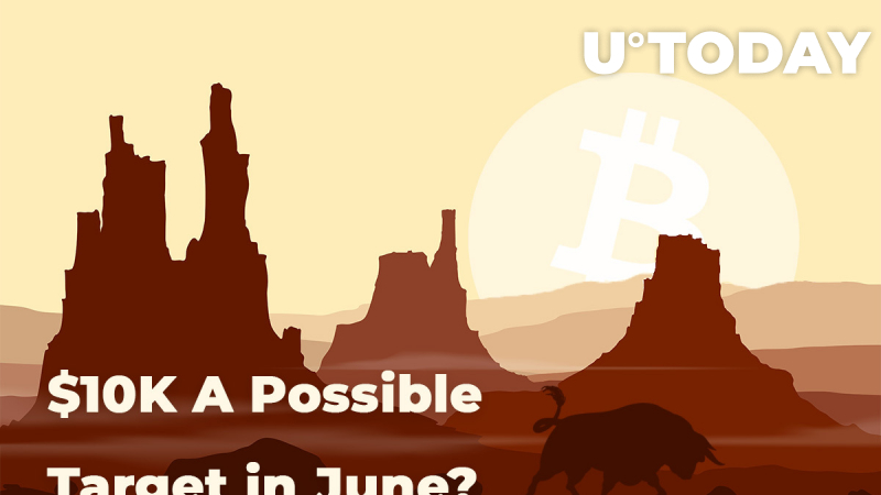 BTC Price In Bullish Trend: Is $10K A Possible Target in June?