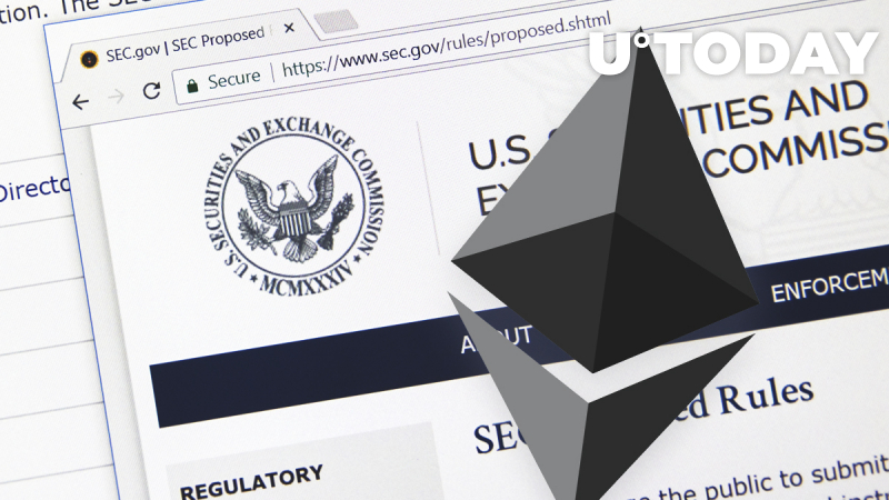 Ethereum Labeled Usable Currency by SEC — Will the Price Grow As a Result?