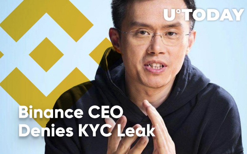 Binance CEO Denies KYC Leak, but Users Don't Buy It