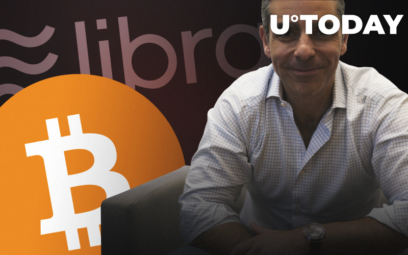 I'm a Big Fan of Bitcoin, Libra's Chief David Marcus Says