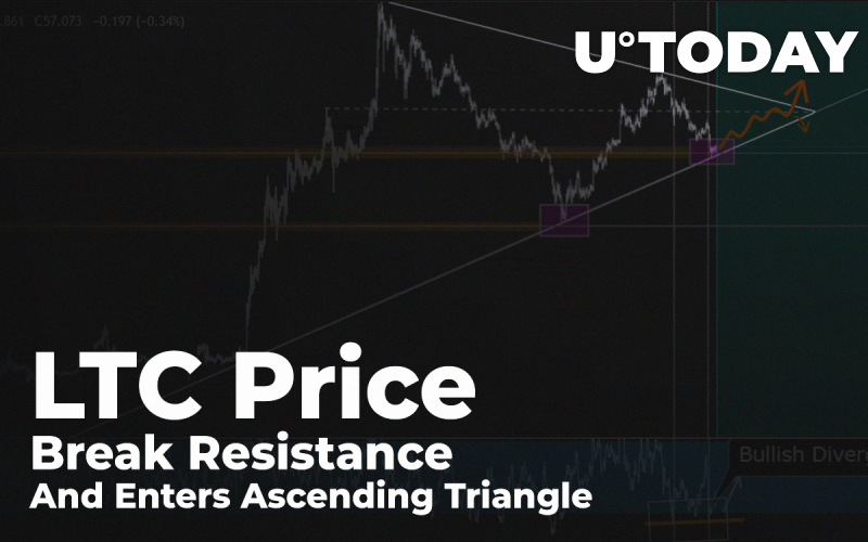 LTC Price Break Resistance And Enters Ascending Triangle: How High It Might Get In October?