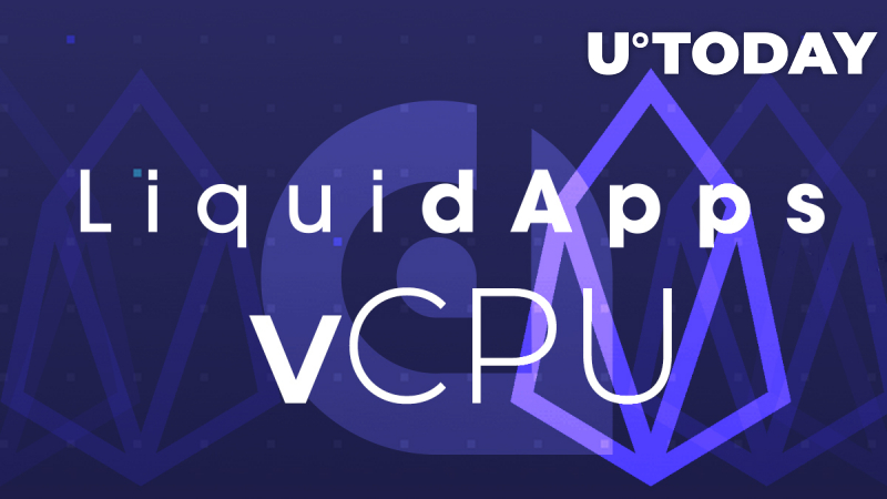 LiquidApps Launches vCPU for Processing Power Efficiency; EOS Gets a Scalability Boost