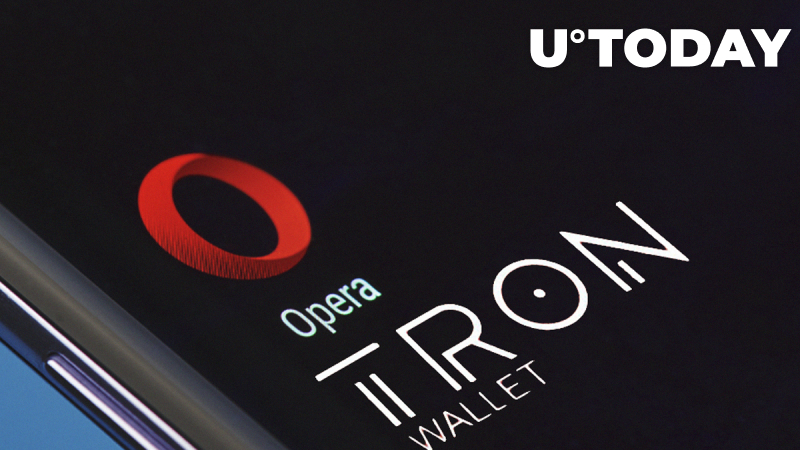 Opera Integrates Tron Wallet Into Its Desktop and Mobile Browser