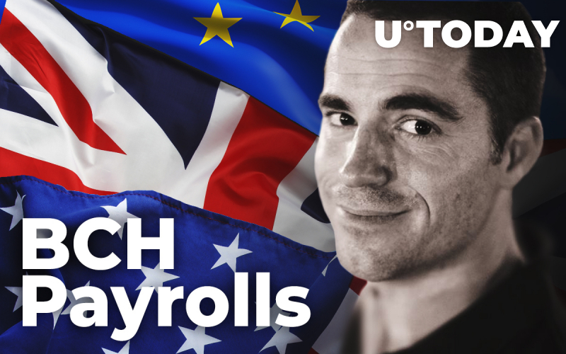 Salaries in Bitcoin Cash Now Available in UK, US, EU – Roger Ver's Bitcoin.com Takes the Opportunity