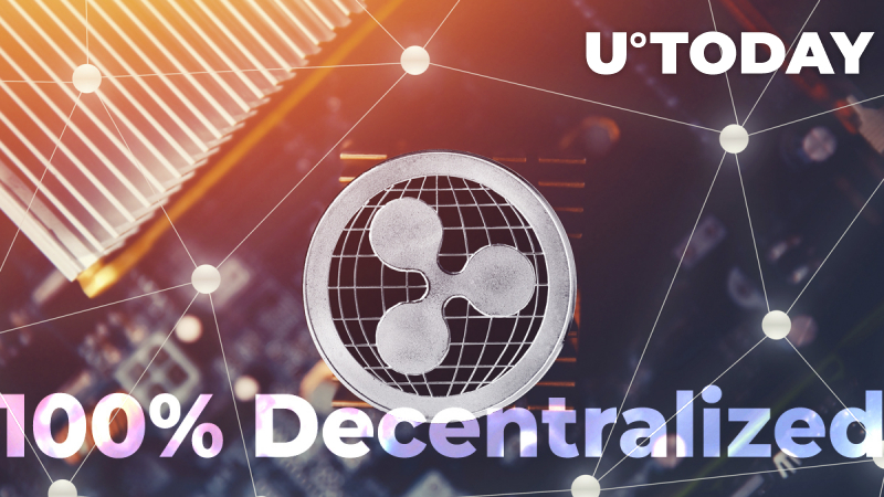 XRP Ledger Is Now Officially Indisputably 100% Decentralized, Says Redditor, Offering Proof