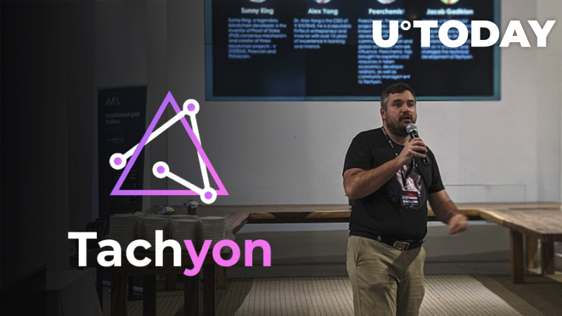 Tachyon Protocol Is Officially Introduced at The Capital 2019 By CoinMarketCap!