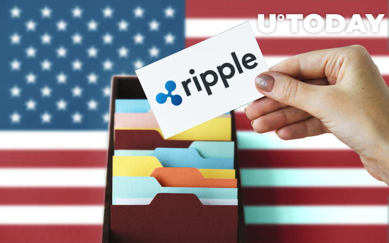 Ripple's XRP Gets Mentioned in US Government Document for the First Time