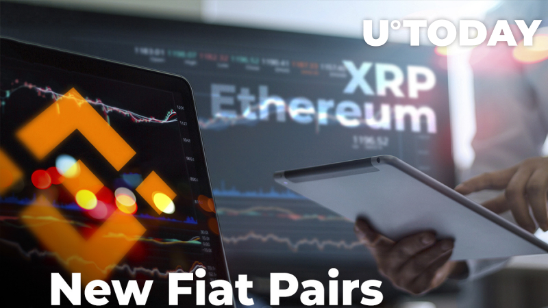 XRP and Ethereum Fiat Pairs Added by Crypto Exchange Binance