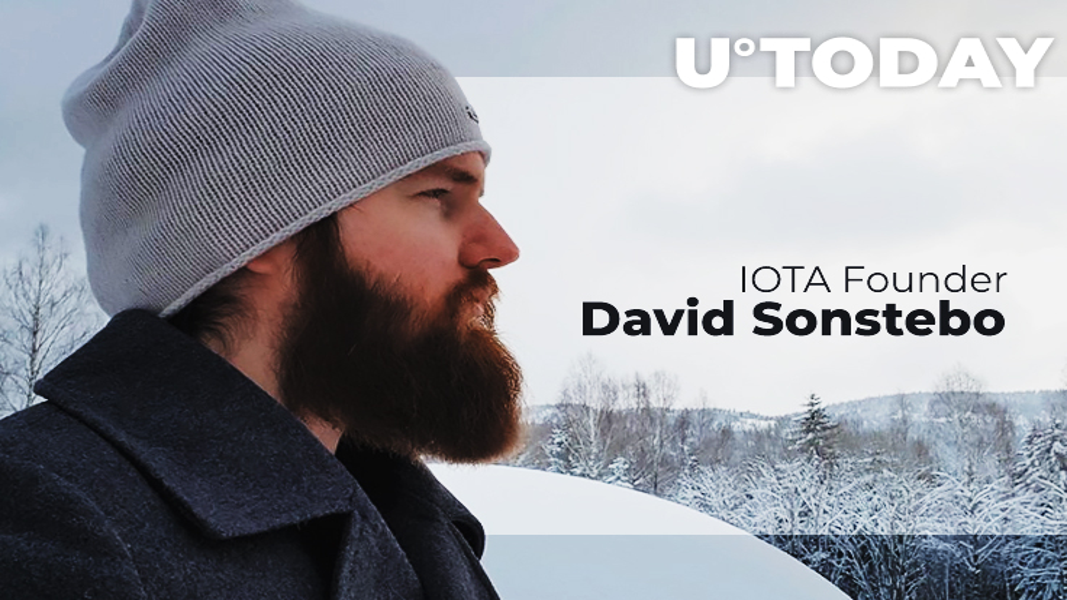 David Sonstebo, le Co-fondateur de IOTA