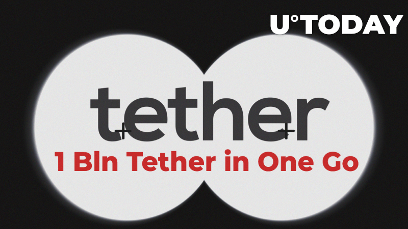 1 Bln Tether in One Go – Massive Invalid USDT Transactions Spotted by Whale Alert