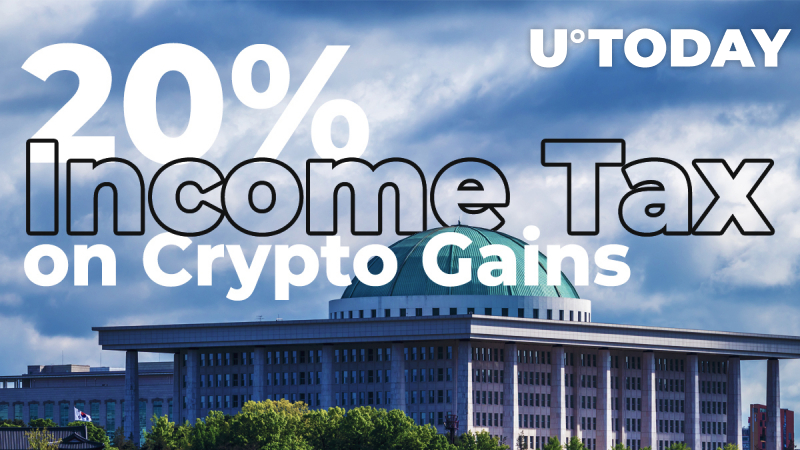 South Korea plans to impose 20% income tax on cryptocurrencies