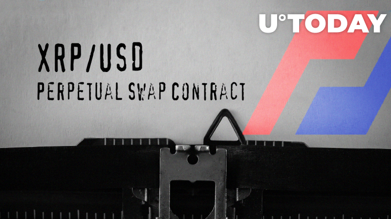 XRP/USD Perpetual Swap Contract to Go Live on BitMEX: Details