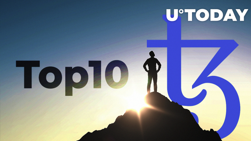 Tezos Enters Top-10, Analysts Predict 'Hard Fall'