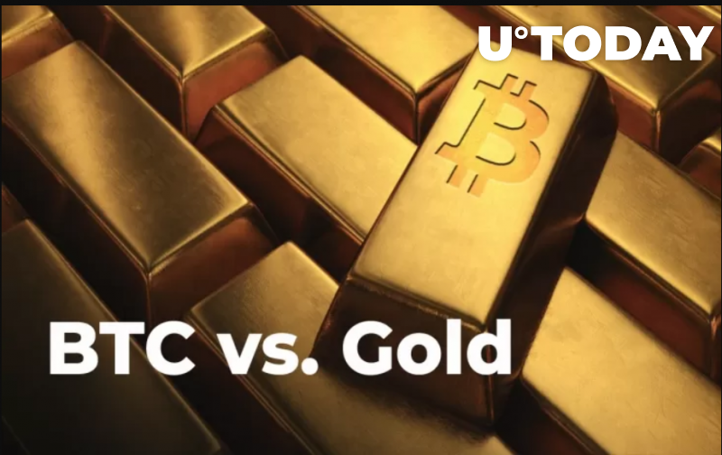 Gold (XAU) Loses Eight Bitcoin (BTC) Market Caps During Four-Day Rout