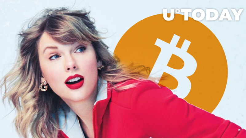 Bitcoin Whale Transfers Taylor Swift's Net Worth for Less Than $1