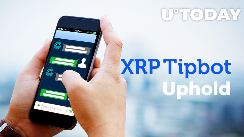 XRP TipBot Is Now Live on Uphold. This Is How You Can Send Tips