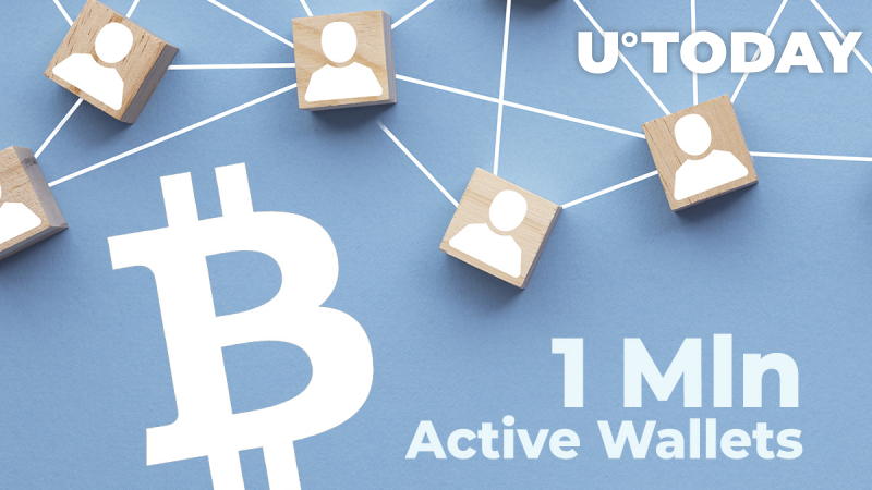 Bitcoin (BTC) Records Over 1 Mln Active Wallets in 24 Hours Since June 2019