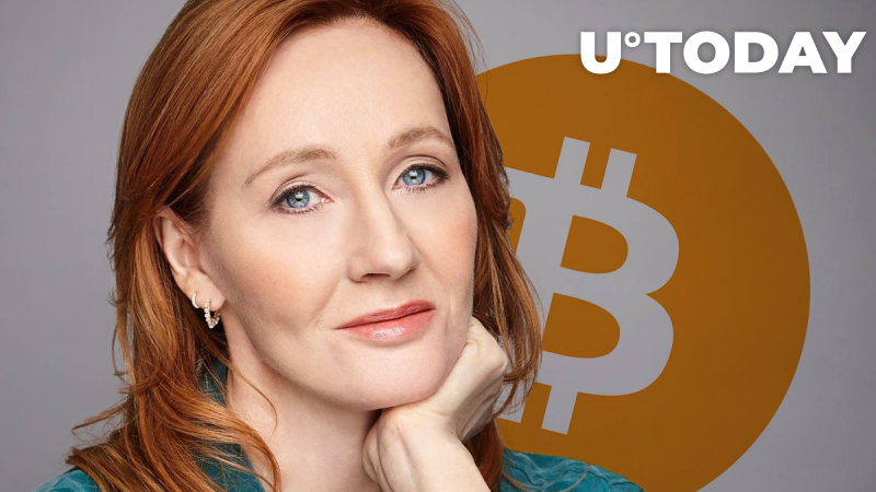 J.K. Rowling Trolled by Bitcoin Community for Not Owning BTC