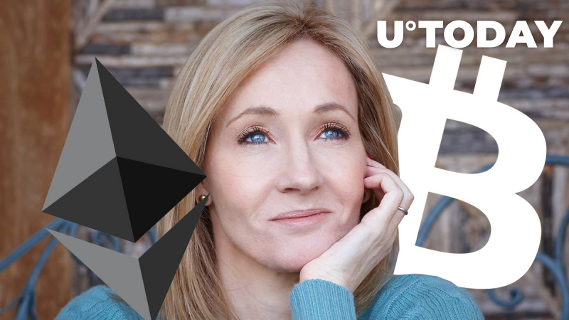 I've Been Trolling Bitcoin to Boost My Significant Ethereum Holdings: J.K. Rowling Joking