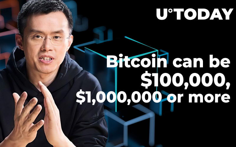 In a Couple of Years Bitcoin Can Be Worth $100,000, $1,000,000 or More: Binance CZ