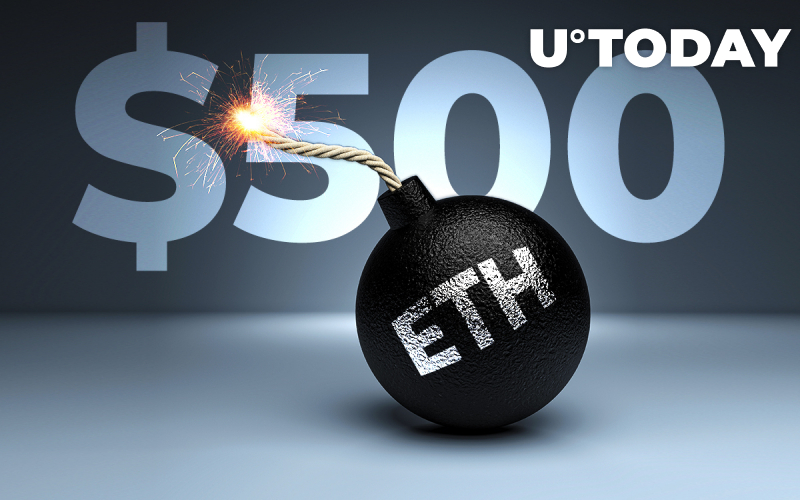 Analyst Assumes ETH Price Ready to Blast to $500+ as Number of ETH Exchange Deposits Increases 30.4% in 24 Hours