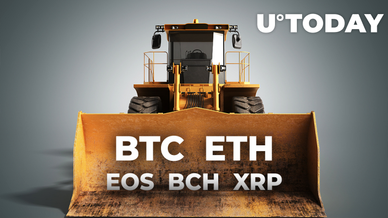 $1.33 Bln Worth of BTC, ETH, EOS, BCH, XRP, and Other Cryptocurrencies Liquidated Across Top Exchanges