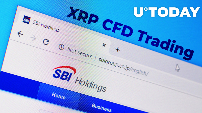 XRP CFD Trading Now Supported by Japanese Investment Giant SBI Holdings
