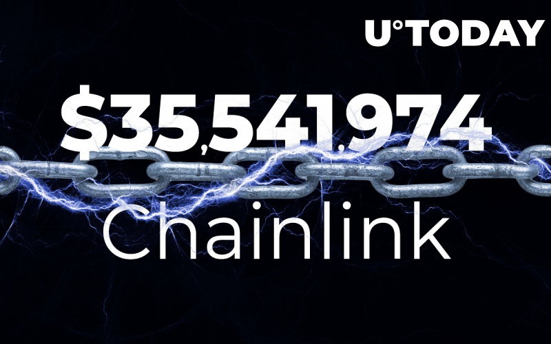 $35,541,974 in Chainlink Moved While LINK Declines to $15 Zone