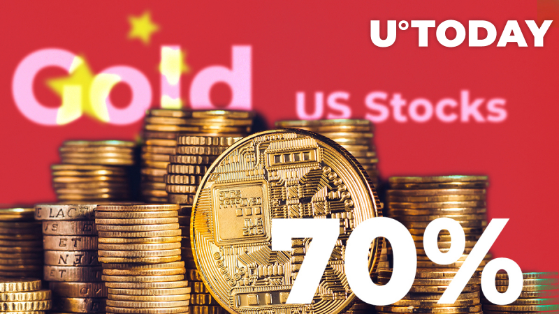 Crypto Surpasses Gold and US Stocks Rise 70%—Best-Performing Asset: China Central TV