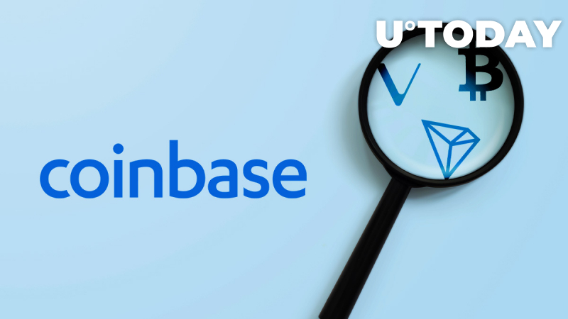 Coinbase Custody Exploring Tron (TRX), VeChain (VET), Wrapped Bitcoin (WBTC) and 34 Other Coins