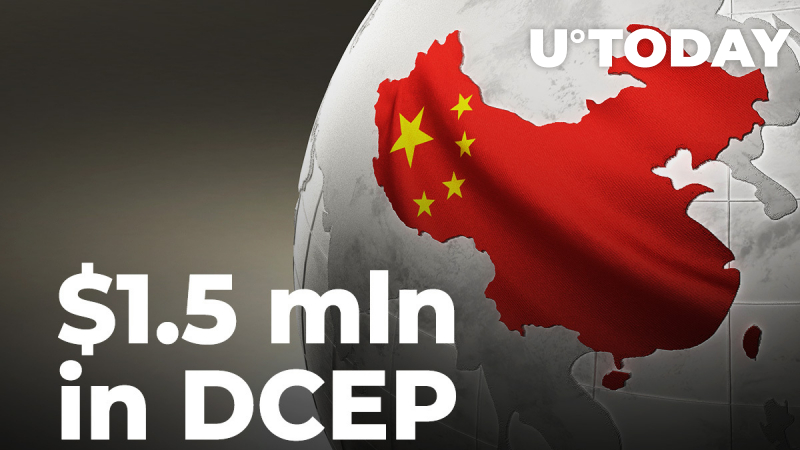 China Is Giving Away $1.5 mln in DCEP to Be Spent in Six Days in CBDC Trials