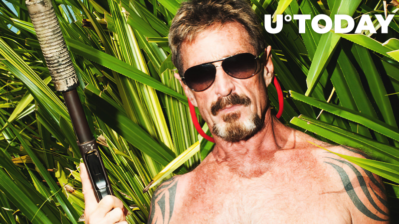 John McAfee Sends Joyful Message from Prison While U.Today Recalls His Crazy Adventures in Crypto World