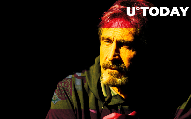 John McAfee: There Is Zero Chance Spain Will Extradite Me