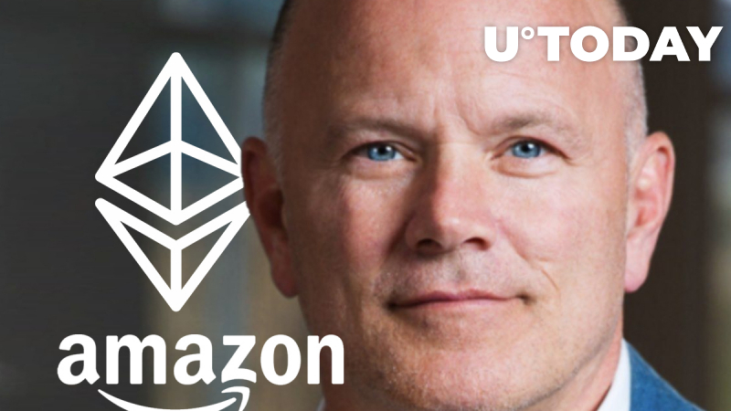 """""""Big Vision. Big Brains"""": Mike Novogratz Compared Ethereum to Early Amazon in 2015"""