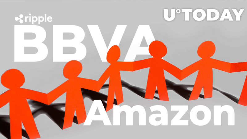 Ripple Customer BBVA Teams Up with Amazon and Bloomberg to Expand Its Equity Business
