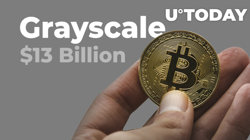 Grayscale Now Holds $13 Billion Worth of Bitcoin, Ethereum, XRP, and Other Cryptocurrencies