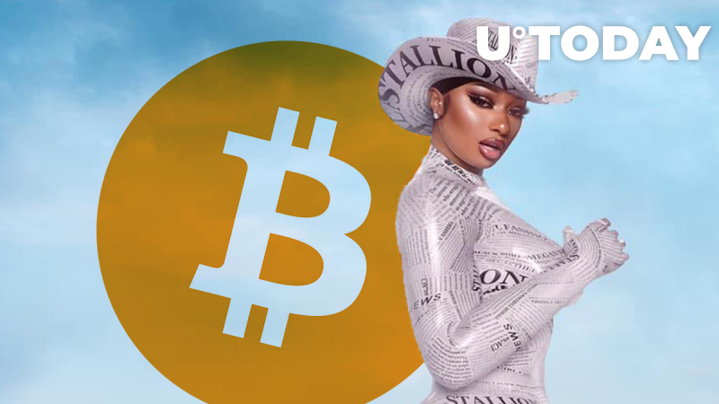 $1 Million Bitcoin Giveaway Announced by Billboard Chart Topper Megan Thee Stallion