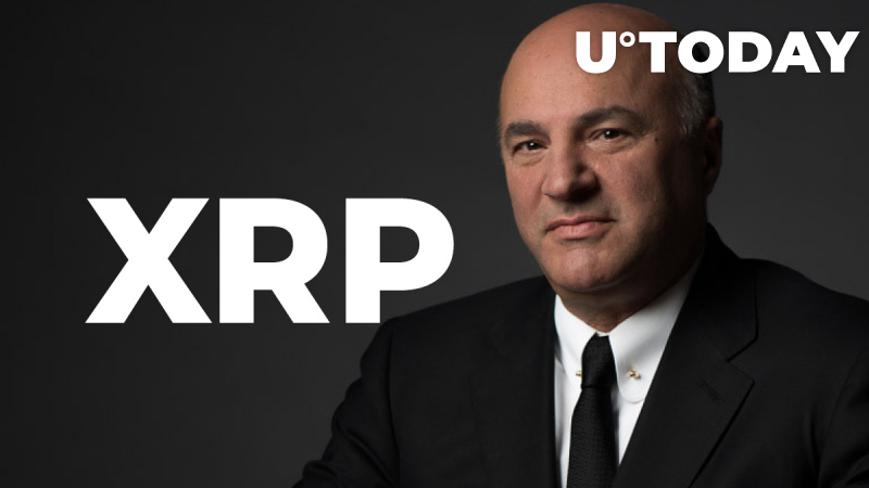 Kevin O'Leary Mispronounces XRP on National TV, Says Bitcoin Is Only Crypto That Works