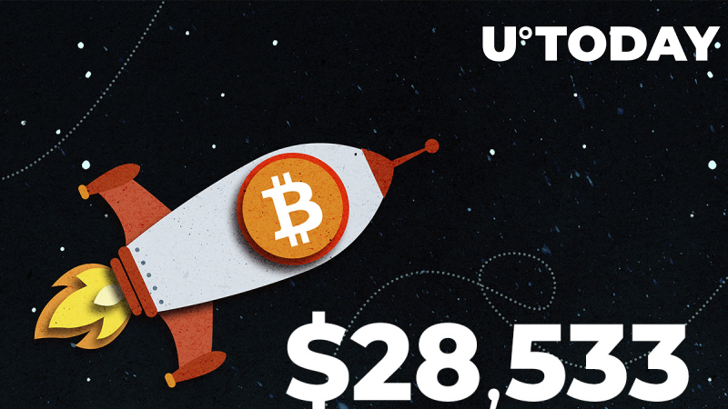 Bitcoin Surges to $28,533: New All-Time High
