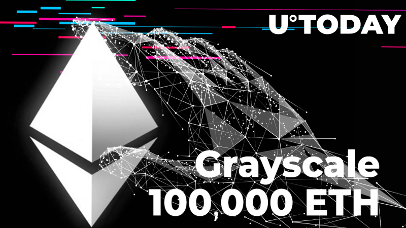 Grayscale Gained Over 100,000 ETH in Past 24 Hours, Acquired 1,276 Bitcoin Yesterday