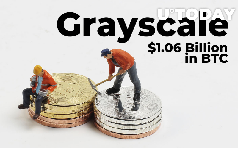Grayscale Acquires $1.06 Billion Worth of Bitcoin: Almost Twice More BTC Than Was Mined in Nov. 2020