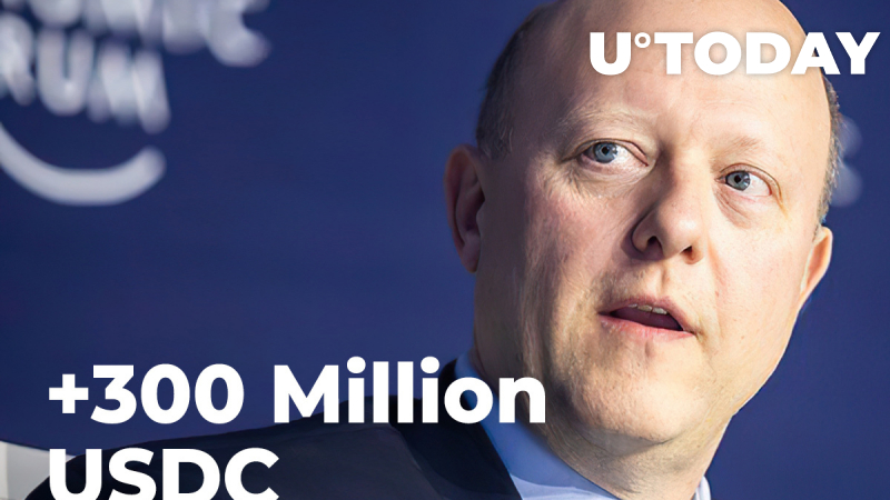 Circle Issues More Than 300 Million USDC in Less Than Week