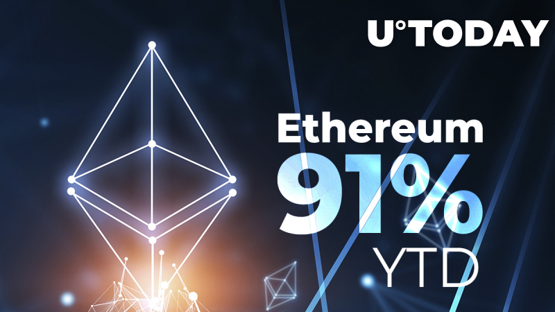 Ethereum Shows 91% Rise Year-to-Date After Surging to New All-Time High: Analyst