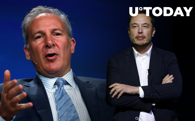 Peter Schiff Tells Elon Musk Why Getting Paid in Bitcoin Makes No Sense
