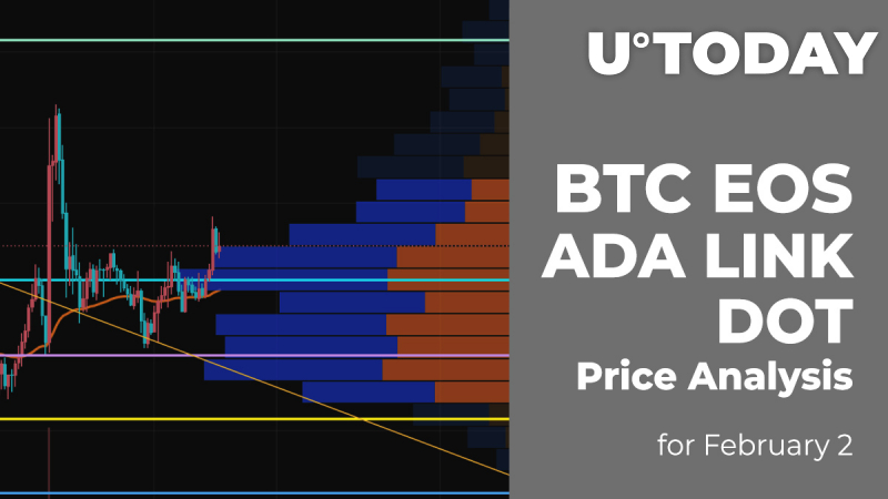 BTC, EOS, ADA, LINK and DOT Price Analysis for February 2