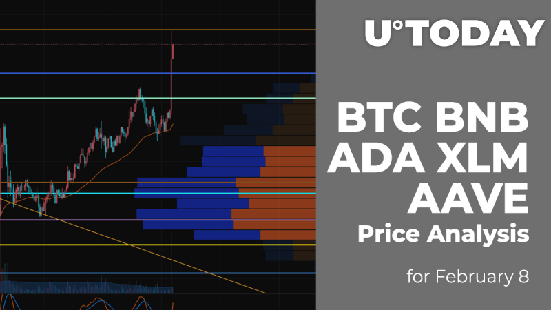 BTC, BNB, ADA, XLM and AAVE Price Analysis for February 8
