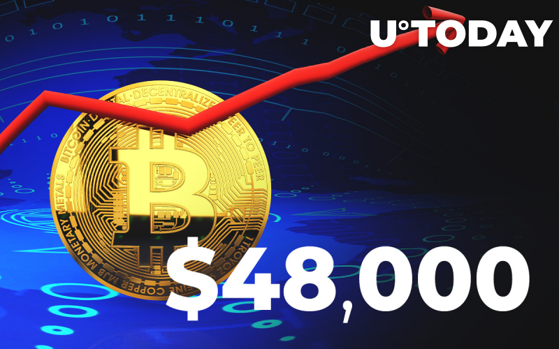 BREAKING: Bitcoin Hits $48,000 First Time In History